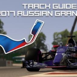 F1 2017 VTB Russian Grand Prix | Virtual Circuit Guide | Sochi, Russia | ACFL 2017