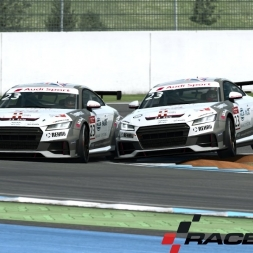 R3E - Audi Sport TT Cup Multiplayer Action with real Race Driver Philip Ellis