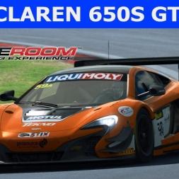 Mclaren 650s GT3 at Oschersleben (PT-BR)