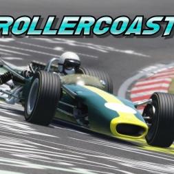[Oculus Rift] Lotus type 49 VR Roller Coaster - Assetto Corsa gameplay Nordschleife