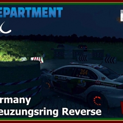 Dirt Rally - RDRC 08 - Rally Germany - SS12 Kreuzungsring Reverse