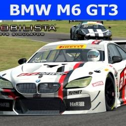 BMW M6 GT3 at Virginia International Raceway (PT-BR)