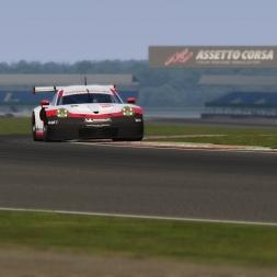 Assetto Corsa - Porsche 911 RSR 2017 at Silverstone - 2:00.226 + Setup