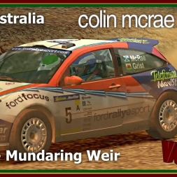 Colin Mcrae Rally 3 - Career Mode S01 - Rally Australia - Day 1 - Stage 1 Mundaring Weir