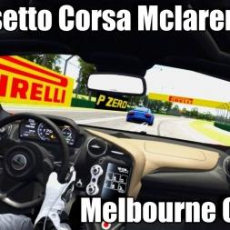 Assetto Corsa - 2017 McLaren 720S vS SuperCars ! - Melbourne Circuit