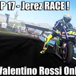 MotoGP 17 Gameplay Valentino Rossi Jerez RACE Prediction 1440p