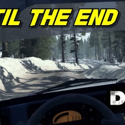 [Oculus Rift] Lancia Delta fighting until the end - Rally of Sweden Dirt Rally