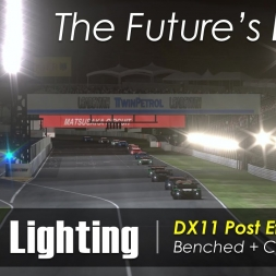 rFactor 2 - DX11 First Look - Night Lighting - Benchmarks