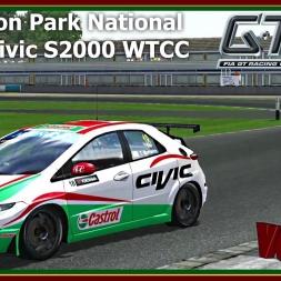 GTR 2 - Honda Civic S2000 WTCC - Donington Park National
