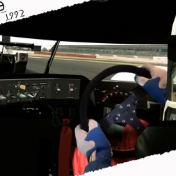 Assetto Corsa Mixed Reality Peugeot 905 1992 Onboard Cam at Silverstone
