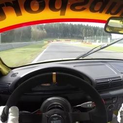 BMW 318ti Cup - Spa-Francorchamps - DMV NES500 Test Day - Hotlap - Drivers Eye