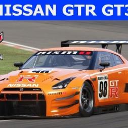 Nissan GTR GT3 at Brands Hatch (PT-BR)