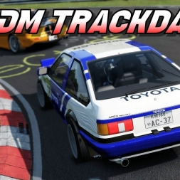 A Nordschleife  JDM Trackday - Assetto Corsa [Oculus rift Gameplay]