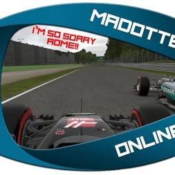 F1 2017 (mod) - F1 2016 online in an OPEN PUBLIC LOBBY part 2!!!