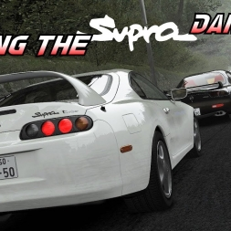 Making the Supra dance - An evening at Akina 24/7 server - Assetto Corsa Oculus Rift Gameplay