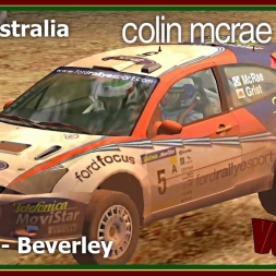 Colin Mcrae Rally 3 - Career Mode S01 - Rally Australia - Day 1 - Stage 2 - Beverley