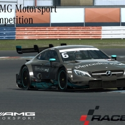 R3E - Mercedes AMG Motorsport DTM 2017 eRacing Competition at Lausitzring - 1:16.889
