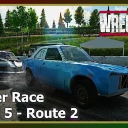 Wreckfest - Banger Race - Mixed 5 - Route 2