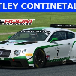 Bentley Continental GT3 at Silverstone (PT-BR)