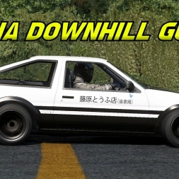 Random callsign's guide to Akina Downhill (with the AE86) - Subscriber request
