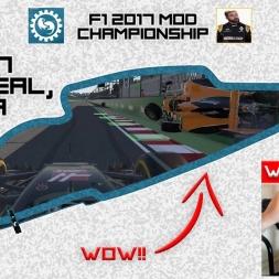 F1 2017 (mod) - ROUND 7 - Canada - WHEEL CAM - Owen32 & madotter Online Co-op Championship