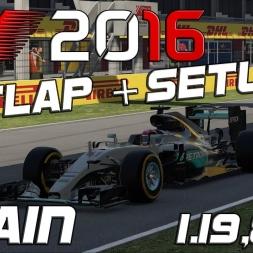 F1 2016 | Setup + Hotlap | Spain | 1.19,896