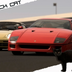 ASSETTO CORSA  -THE BLACK CAT-  Porsche 959 Vs Ferrari F40