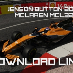 F1 2017 - ACFL Jenson Button at Monaco!! New Livery!! **DOWNLOAD LINK**