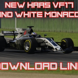 F1 2017 - ACFL NEW White Haas VF17 2017 Livery *DOWNLOAD LINK*