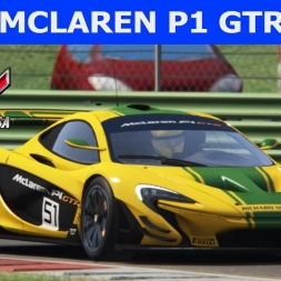 McLaren P1 GTR at Vallelunga - Ready to Race DLC (PT-BR)