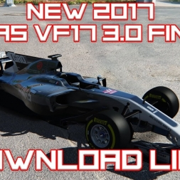 F1 2017 - ACFL NEW White Haas VF17 2017 v3.0 FINAL *DOWNLOAD LINK*