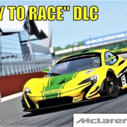 READY TO RACE DLC - Mclaren P1 GTR HOTLAP at Silverstone - Assetto Corsa