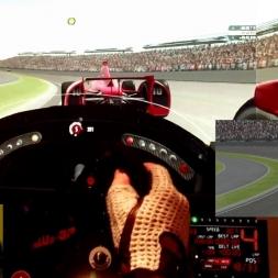rF2 - Indianapolis - Dallara DW12 - 100% AI oval race win
