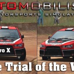 Automobilista | Hotlap Comparison | Rallycross Lancer Evo X | Ascurra