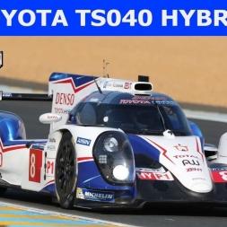 Toyota TS040 Hybrid 2014 at Barcelona (PT-BR)