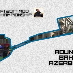 F1 2017 (mod) - ROUND 8 - Baku, Azerbaijan - Owen32 & madotter Online Co-op Championship