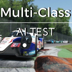 Assetto Corsa Multi Class AI Test - Update V1.14