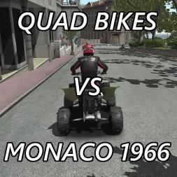 RFactor 2 - Quad Bikes vs Monaco 1966