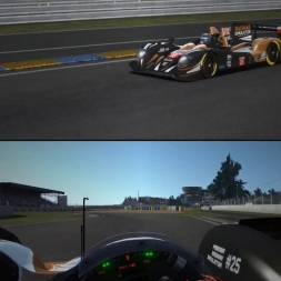 rFactor 2: Le Mans RDLMS Test Run Day