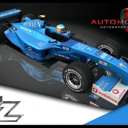 F1 benetton renault V10 / Circuit de Magny-Cours #Automobilista