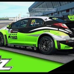 WTCC2016 / Honda Civic / Circuit du hungaroring #RaceRoomRacing
