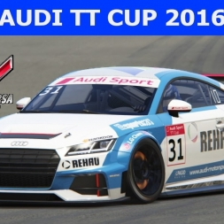 Audi TT Cup 2016 at Nurburgring Short (PT-BR)