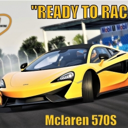 """READY TO RACE"" DLC - Mclaren 570S - Fun at Thruxton - Assetto Corsa"