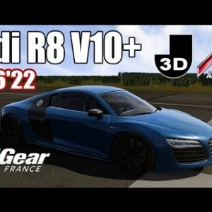 ASSETTO CORSA : Audi R8 V10+ : TOP GEAR FRANCE