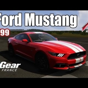 ASSETTO CORSA : Ford Mustang : TOP GEAR FRANCE