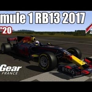 ASSETTO CORSA : Formule 1 RB13 2017 : TOP GEAR FRANCE