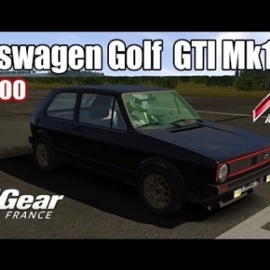 ASSETTO CORSA : Volkswagen Golf  GTI Mk1 : TOP GEAR FRANCE