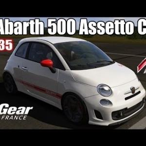 ASSETTO CORSA : Fiat Abarth 500 Assetto Corse : TOP GEAR FRANCE