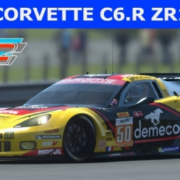 Corvette C6.R ZR1 at Lime Rock Park (PT-BR)