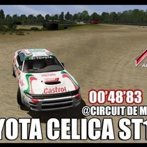 ASSETTO CORSA : Toyota Celica ST185 @circuit de monteils